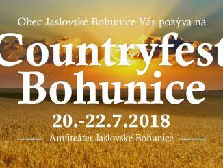 Súťaž 2×2 permanentky – Countryfest Jaslovské Bohunice 2018