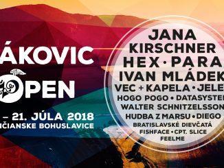 VTrenčianskych Bohuslaviciach dnes štartuje festival Žákovic Open, brány sa otvárajú o12:00!