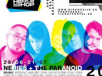 The Paranoid aNerieš spoja dva hudobné žánre na festivale Hip Hop Žije!