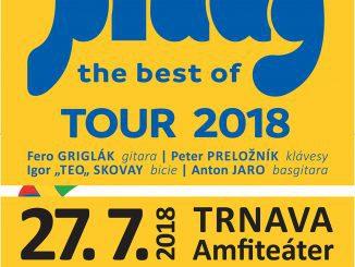 Prúdy štartujú letnú časť THE BEST OF TOUR 2018, Fedora Freša nahradí vkapele basgitarista Anton Jaro.