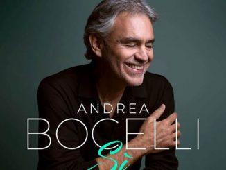 Andrea Bocelli vydáva album Sì!  Vyjde 26. októbra 2018!