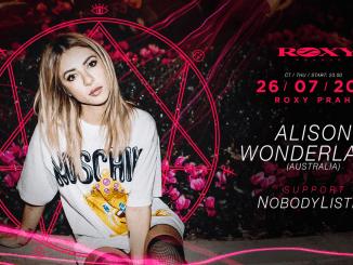Alison Wonderland vystoupí den před Tomorrowlandem vpražském klubu Roxy.