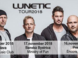 LUNETIC vystúpi na slovenskom turné vsprievode živej kapely.