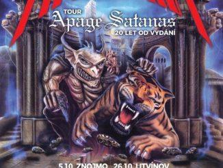 Arakain v říjnu vyrazí na své podzimní turné APAGE SATANAS TOUR!