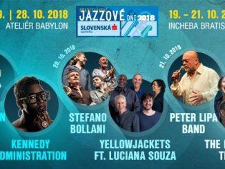 Bratislavské jazzové dňi 2018: Tento rok počas piatich dní! Úvodný koncert už 8. septembra!