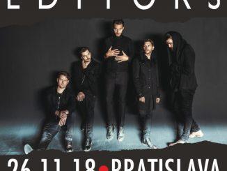 V Bratislave znova zažiari kapela Editors, so svojou headline show prídu už tento rok!