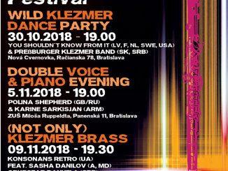 Na piatom pokračovaní bratislavského festivalu KlezMORE sa opäť predstavia výnimočné projekty súčasnej (nielen) klezmer scény.