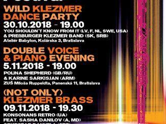 15th KlezMORE Festival Vienna & Bratislava.