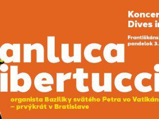 Gianluca Libertucci (Taliansko) organista Baziliky svätého Petra vo Vatikáne – prvýkrát v Bratislave.