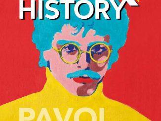 Pavol Hammel dostal knarodeninám vydanie časopisu Rock History Speciál.