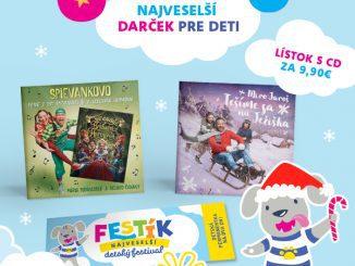 Vo vianočnom balíčku FESTÍK-a bude aj CD-čko Mira Jaroša a Spievankova!