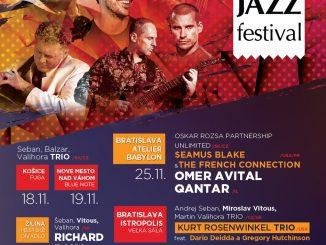 Na Slovensku opäť uvítame veľké hviezdy svetovej hudobnej scény, jesenná edícia ONE DAY JAZZ Festivalu štartuje 18. novembra!