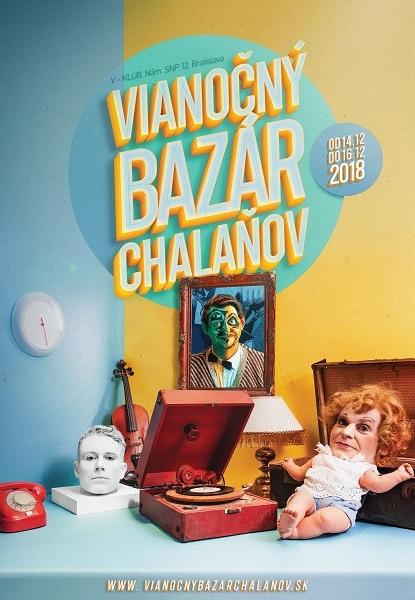 Vianočný Bazár Chalaňov bude už tento víkend v Bratislave.Príďte si nakúpiť vianočné darčeky apomôžete iným.