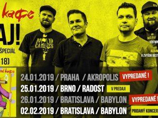 INEKAFE oslávia 20-te výročie prvého albumu VITAJ! unikátnym turné, vBratislave pridávajú ďalší koncert!