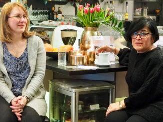 Vo Fashion Point Café sa rozprávalo o Máraiovcoch. Spisovateľka Anna Ötvös predstavila svoju knihu!