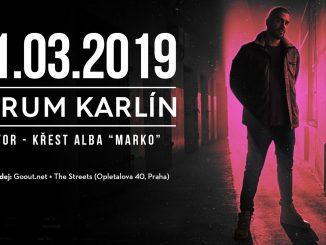 Ektor hlásí 1500 prodaných lístků na křest v pražském Foru Karlín a odhaluje cover alba Marko.