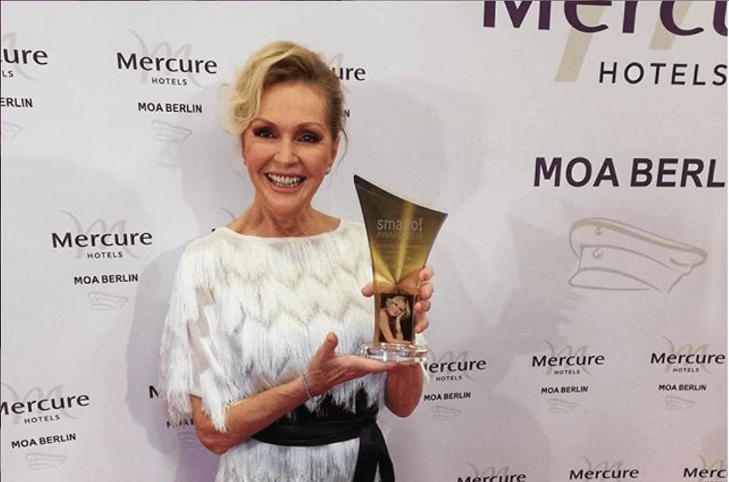Helena Vondráčková si cez víkend prevzala vNemecku cenu za celoživotný prínos.