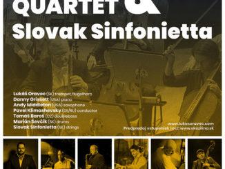 Lukáš Oravec Quartet & Slovak Sinfonietta
