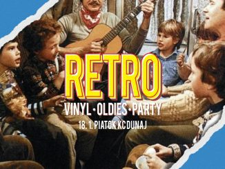 RETRO vinyl • oldies • party v KC Dunaj.