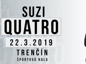 Suzi Quatro live 2019 / Trenčín