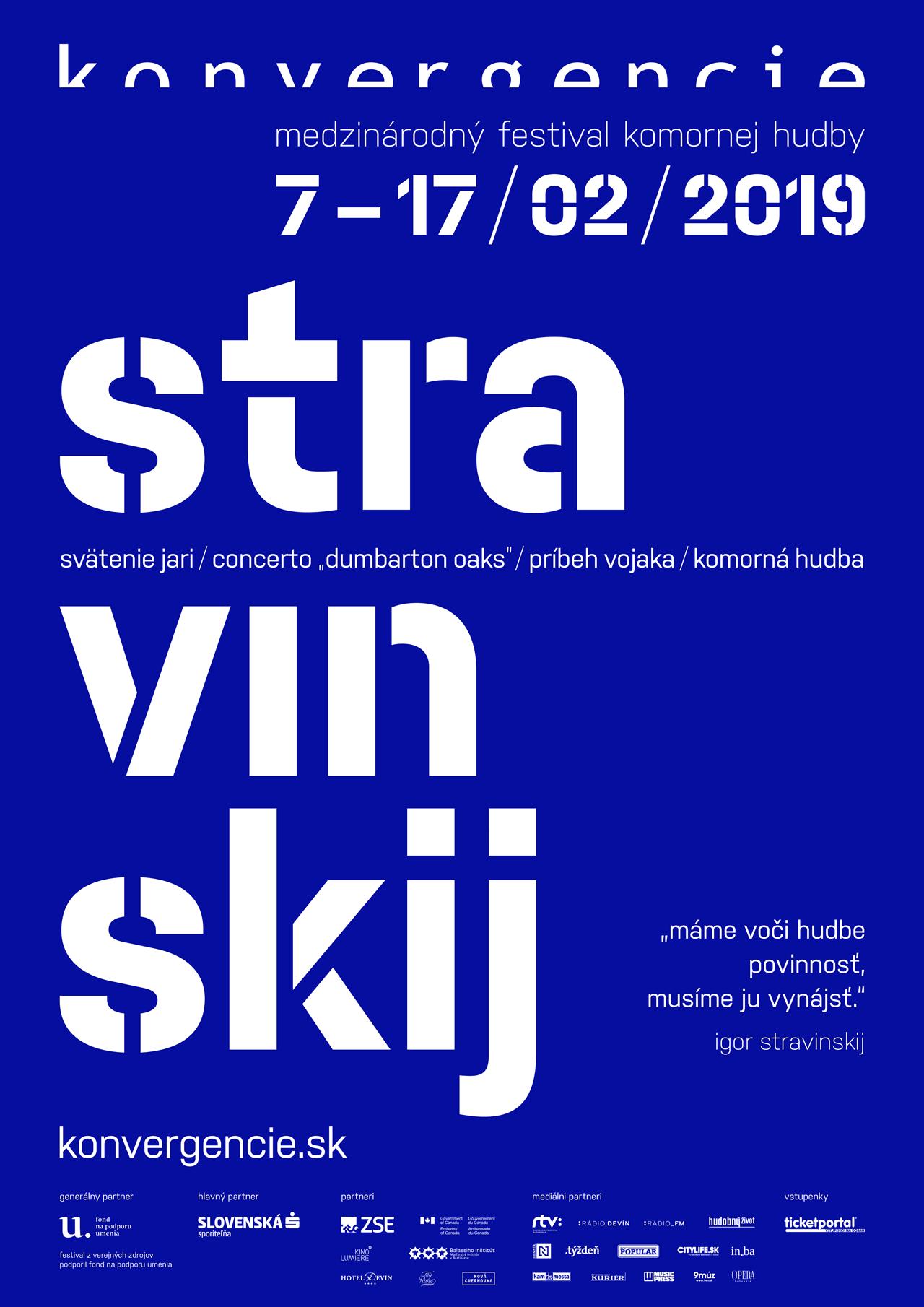 Rebel Igor Stravinskij – exkluzívny hosť festivalu Konvergencie.