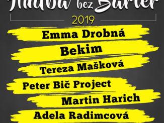 Hudba bez bariér sa vracia už 8. marca –V roku 2019 ju podporia svojimi koncertmi aj Emma Drobná aTereza Mašková!