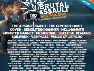 Brutal Assault 2019: Nové kapely jsou tu!!