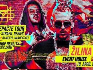 DMS prichádza sPrepáčte TOUR 2019 do Žiliny.