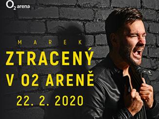 Marek Ztracený oznámil fanúšikom svoj životný koncert: 22. 2. 2020 vystúpi v O2 Aréne!