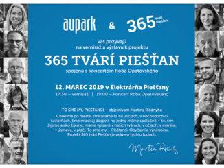 Výstavu 365 tvárí Piešťan otvorí koncert Roba Opatovského.