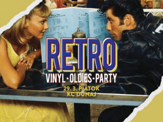 Retro party 29.3. v KC Dunaj.
