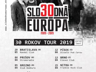 Skupina Slobodná Európa slaví 30. výročie!