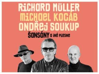 Richard Müller, Michael Kocáb aOndřej Soukup pripravujú spoločné šansónové turné!