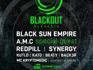 Legendárny holandský label Blackout music prichádza už túto sobotu na Slovensko s masívnym line-upom!