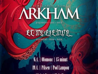 Et Moriemur a Postcards From Arkham na společném mini-tour.