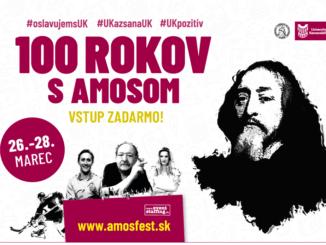 100 rokov s Amosom – deň otvorených dverí na Univerzite Komenského v Bratislave