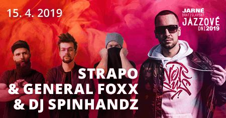 Na jarných jazzákoch bude koncertovať aj Strapo!