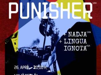 Človek a technika zlúčení na koncerte Author & Punisher, Nadja a Lingua Ignota.