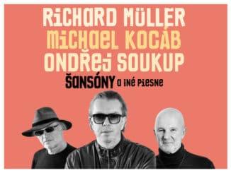 Richard Müller, Michael Kocáb aOndřej Soukup pripravujú repertoár spoločného turné!