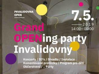 Invalidovna Open – nový prostor pro kulturu i sousedské akce.