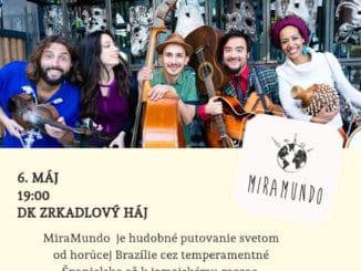 MiraMundo – hudba, ktorá vás prenesie do slnečného Ria aďalej.