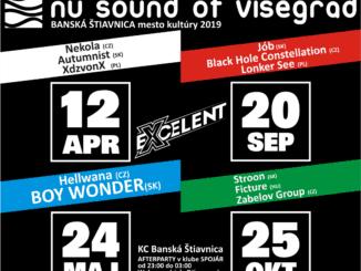 Banská Štiavnica privíta to najlepšie z Vyšehradu - NU SOUND OF VISEGRAD už 12 apríla.