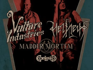 Avantgardní Vulture Industries a Helheim na turné s Madder Mortem.