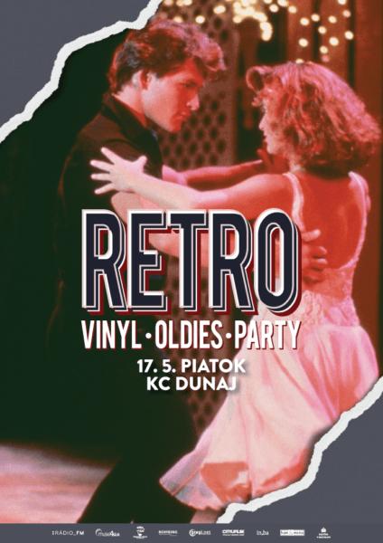 RETRO vinyl • oldies • party 17.5. v KC Dunaj