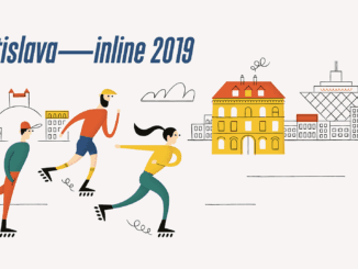 bratislava-inline 2019 / 16. ročník:Korčuliari, cyklisti a iné nemotorové kolieska budú opäť jazdiť po bratislavských cestách.