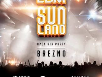 EDM SunLand 2019 – Open Air Party na námestí mesta Brezno.