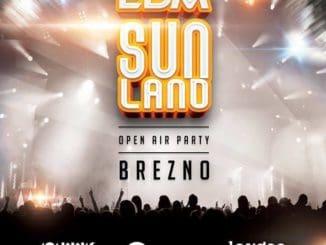 EDM SunLand 2019 – Open Air Party na námestí mesta Brezno.