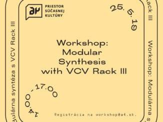 Hudobný workshop: Modulárna syntéza s VCV Rack III.