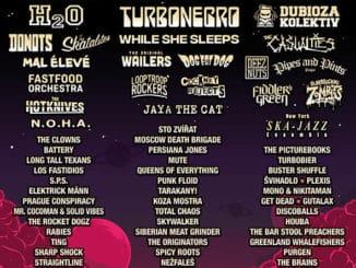 Festival Mighty Sounds zveřejňuje seznam kapel na jednotlivé dny.
