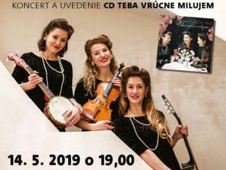 Paper Moon Trio - uvedenie CD Teba vrúcne milujem.
